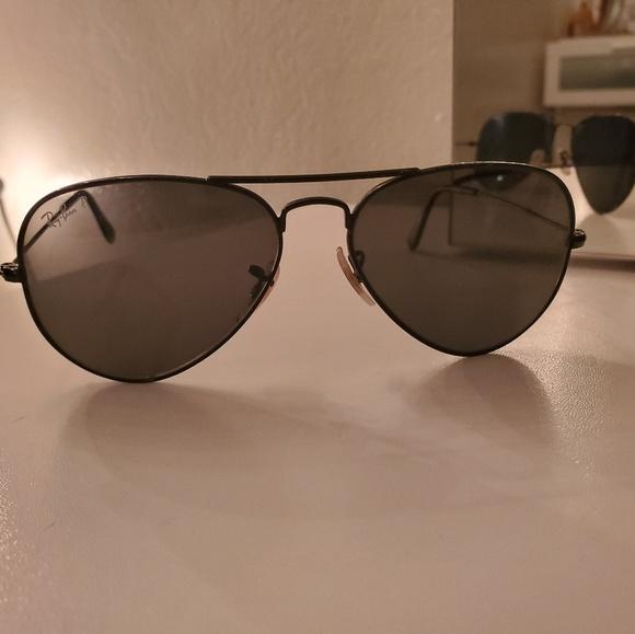 3499c3a911c6 Ray-Ban Accessories | Polarized Ray Ban Aviator Sunglasses | Poshmark